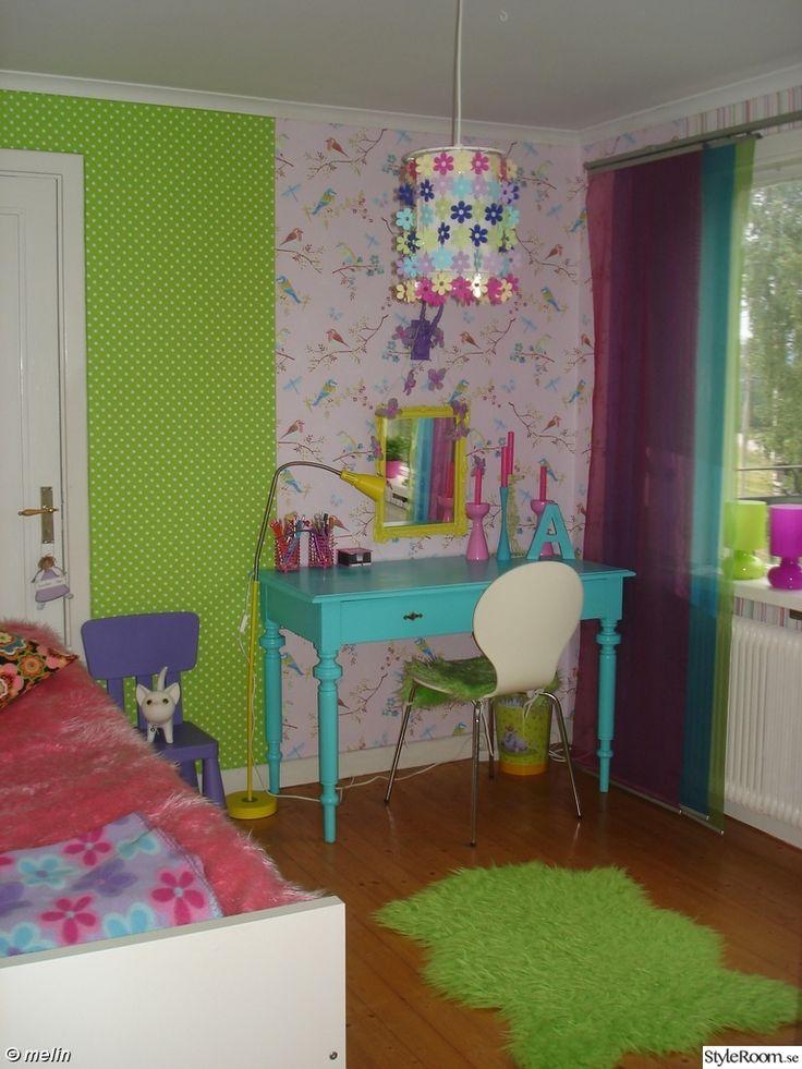 barnrum,färgglatt,skrivbord,färg