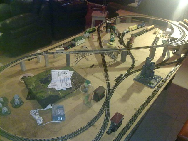 model train layouts 4x8 the wife and i have decided to