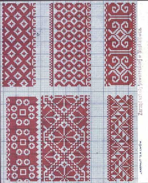 Folklored: Eastern Slav Embroidery Schemes - 1