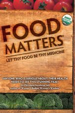 Food Matters' is a hard hitting, fast paced look at our current state of health. Despite the billions of dollars of funding and research into new so-called cures we continue to suffer from a raft of chronic ills and every day maladies.