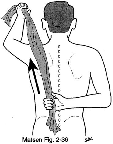 Home Exercises for the Stiff Shoulder, with video demonstrations