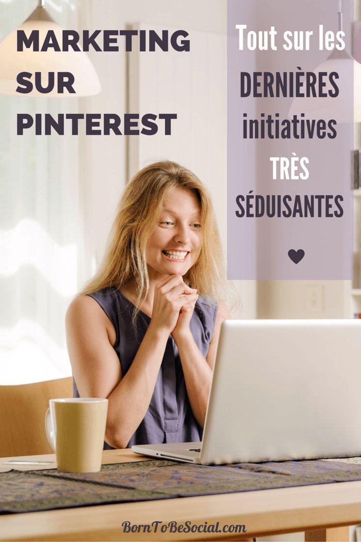 MARKETING PINTEREST : TOUT SUR LES DERNIÈRES INITIATIVES TRÈS SÉDUISANTES – Les mises à jour fonctionnelles et mouvements stratégiques n'ont pas manqués ces derniers mois. Si vous faites du marketing sur Pinterest, lisez ce qui suit ! Il y a de quoi s'enthousiasmer ! Voici quelques-unes des initiatives fraîchement lancées par Pinterest. | BornToBeSocial - Conseil & Accompagnement Pinterest
