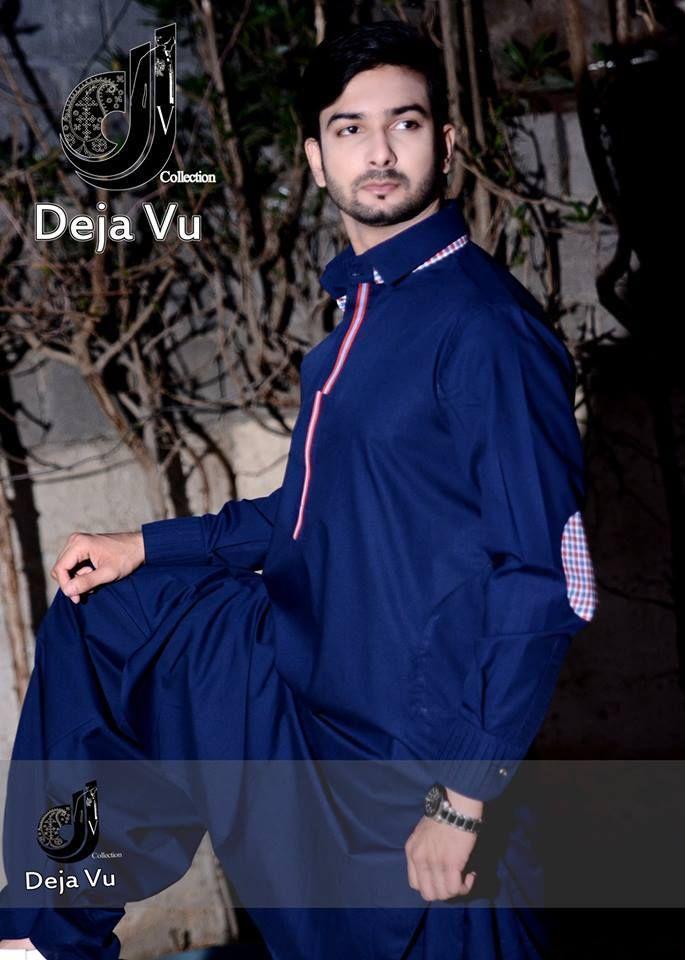 New Kurta Designs For Men 2014 - Deja Vu Kurta Shalwar Designs