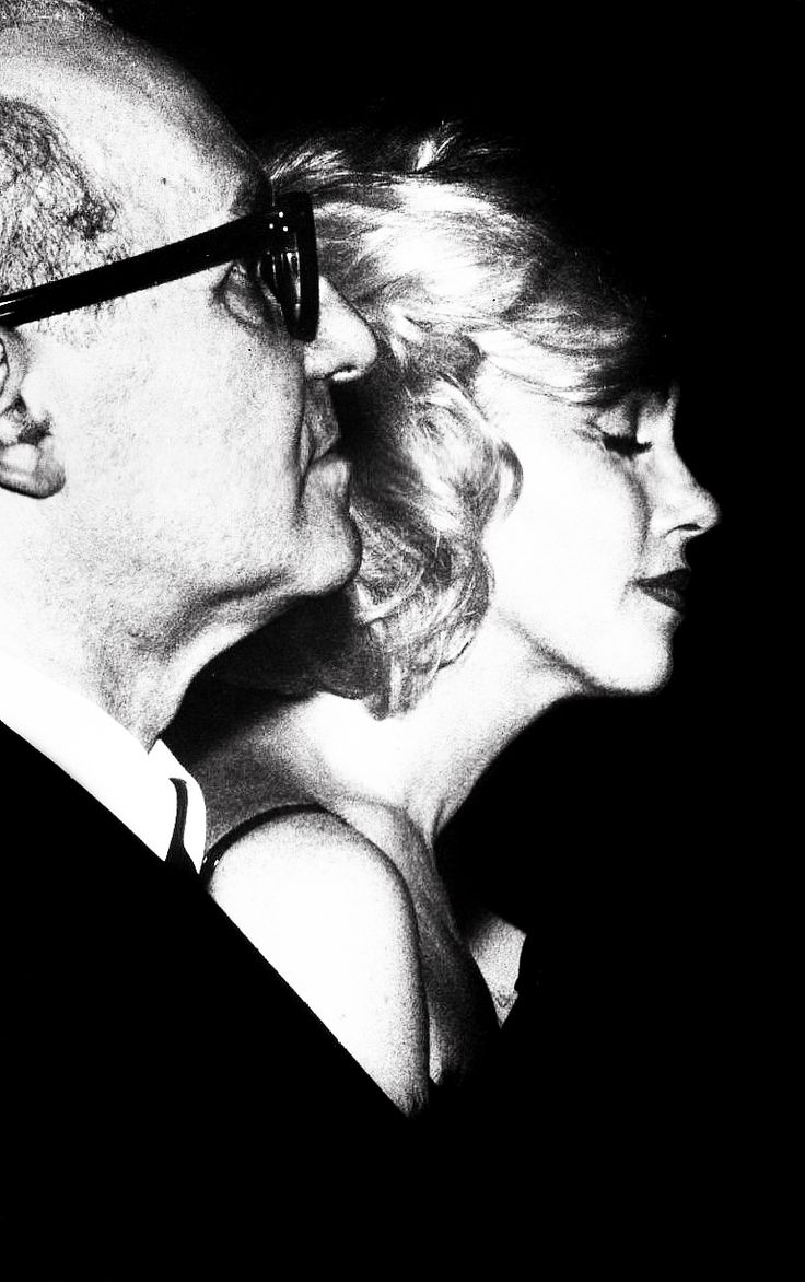 Marilyn Monroe - March 13, 1961 - with Lee Strasberg attending the Actors Studio Benefit at the Roseland Ballroom, NYC