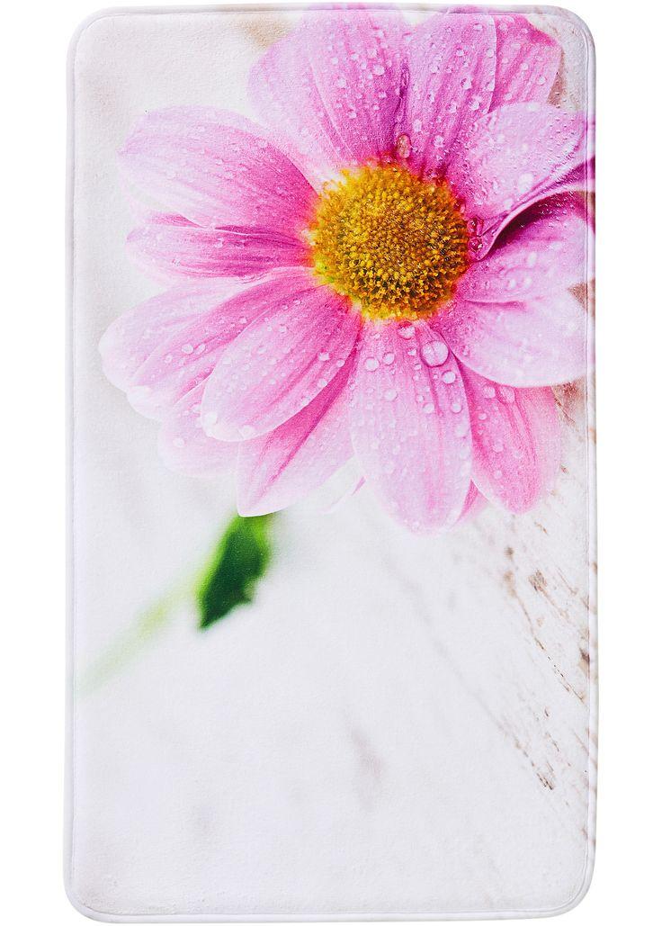 Jetzt anschauen: Diese superweiche und schnell trocknende Badgarnitur aus Memory Schaum mit Blumen-Fotodruck bietet maximalen Komfort. Extrem saugfähig, rutschhemmend beschichtet und geeignet für die Fußbodenheizung. Alle Maße sind ca. Angaben.