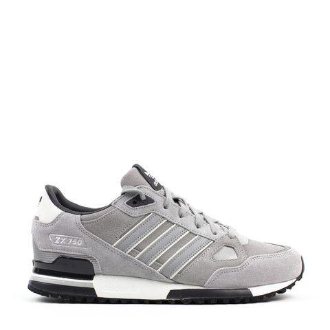 3ade1ae7e Charms Men Adidas Originals ZX 750 TurnShoes Black HellGrey White Wholesale  price 5 LRG zx 750 Grey 9c865f22cdd44f933656bcdd9a3bcf69