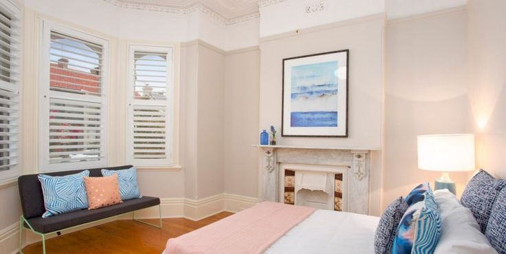 Beautifully renovated, sunny garden, facade, Victorian freestanding residence, original detail, north east aspect, double bedroom