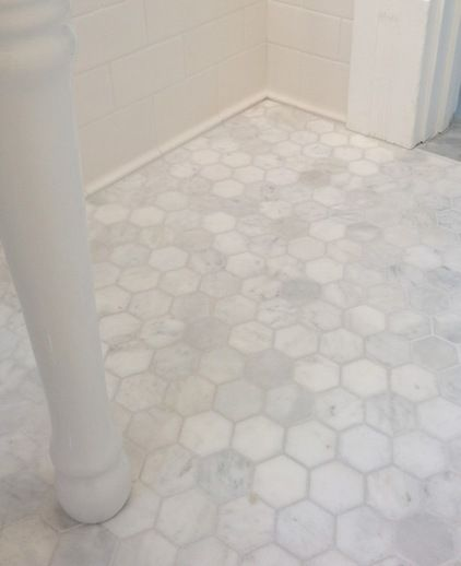 The bathroom floor of my dreams {by Restoring our 1890 Victorian}