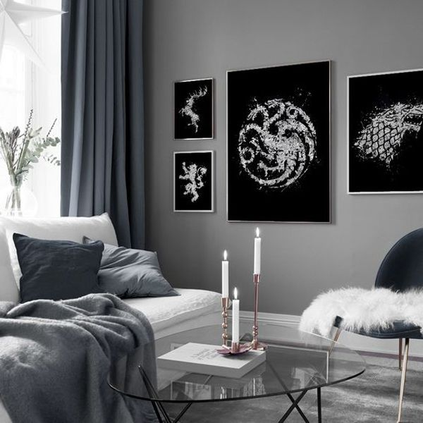 34 Epic Game Of Thrones Decor Ideas You Must Try House Design And Decor Game Of Thrones Decor Silver Bedroom Decor Game Room Decor