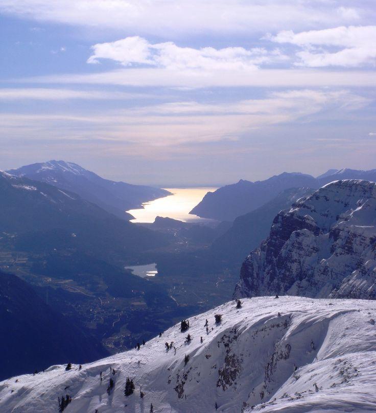 ANDALO Garda Lake from Paganella, Trentino, Italy