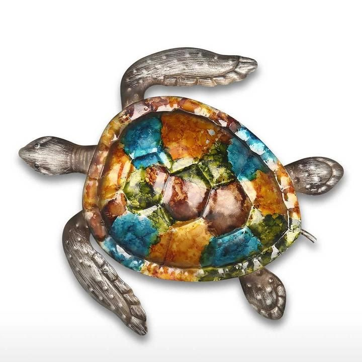 We Want To Depict Nature The Ocean The Sea And Some Special Animals Such As Turtles As Landscape And Wal Sea Turtle Wall Art Turtle Wall Art Ocean Wall Decor