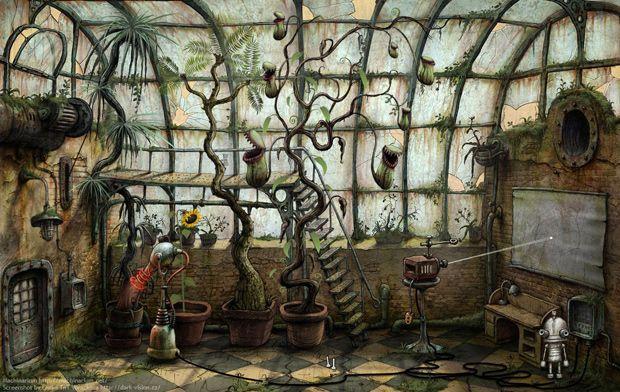 Machinarium, un videojuego indie con estética steampunk http://fantasticocotidiano.com/
