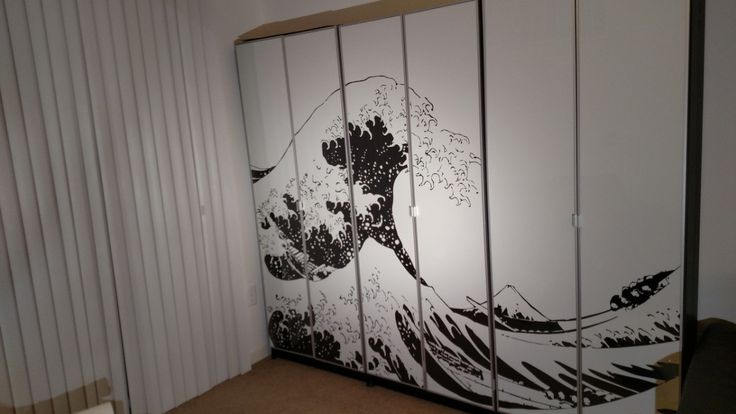 Turn BILLY bookcases into bold, large wall art - IKEA Hackers - IKEA Hackers