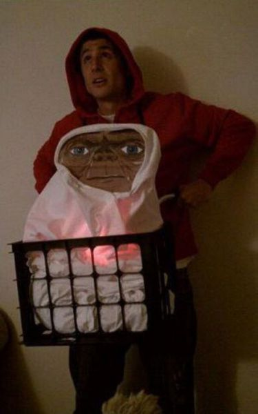 funny halloween costume, movie costume, E.T., ET Costume