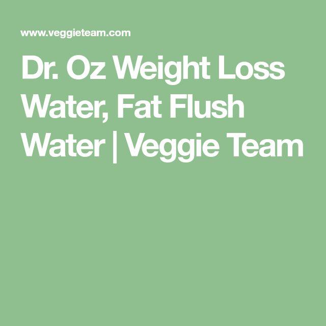 Dr. Oz Weight Loss Water, Fat Flush Water | Veggie Team