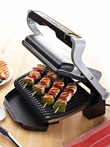 The T-Fal OptiGrill made our 2014 #VIPAwards because it's the first grill with sensors to gauge a food's thickness and determine the time needed to cook it to perfection.