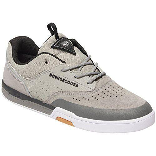DC Shoes Mens Dc Shoes Cole Lite 3 S - Performance Skate Shoes - Men - Us 11 - Grey Grey/Black Us 11 / Uk 10 / Eu 44.5