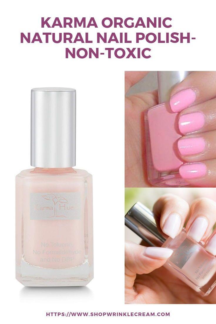 Karma Organic Natural Nail Polish Non Toxic Nail Art Vegan And Cruelty Free Nail Paint May Blossoms Nail Polish Natural Nail Polish Natural Nails