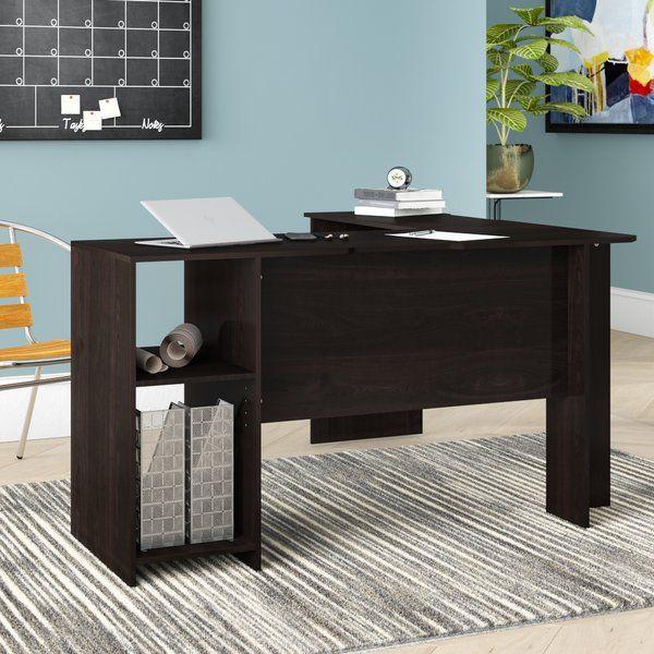 Eakins L Shaped Computer Desk L Shaped Corner Desk Bookshelf Desk Global Office Furniture