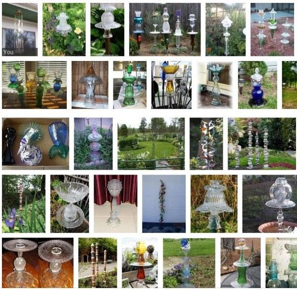 How To Make Glass Garden Totems | Empress of Dirt