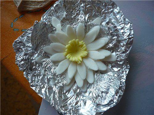 Водяная лилия,water lily, кувшинка, leknín, Seerose, ninfea, nenúfar, บัวเผื่อน - Мастер-классы по украшению тортов Cake Decorating Tutorials (How To's) Tortas Paso a Paso