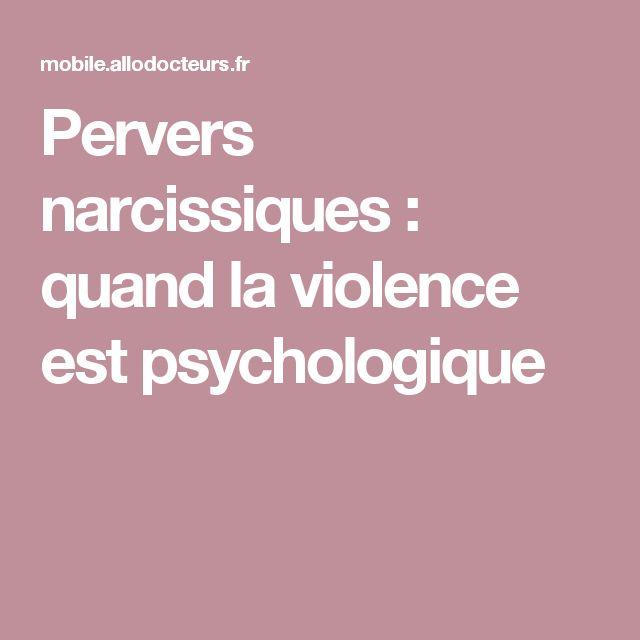 Pervers narcissiques : quand la violence est psychologique