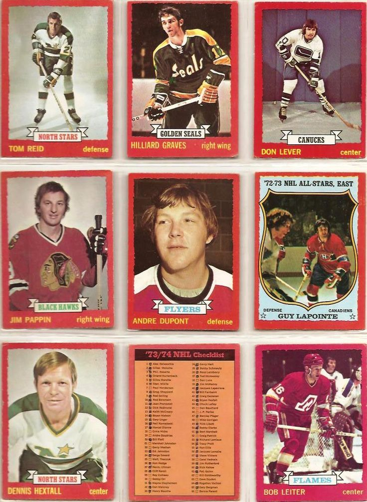 109-117 Tom Reid, Hilliard Graves, Don Lever, Jim Pappin, Andre Dupont, Guy LaPointe, Dennis Hextall, Checklist 1-132, Bob Leiter