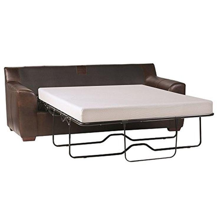 Zinus Sleep Master Cool Gel Memory Foam 5 Inch Sleeper Sofa Mattress Bed Queen #Zinus