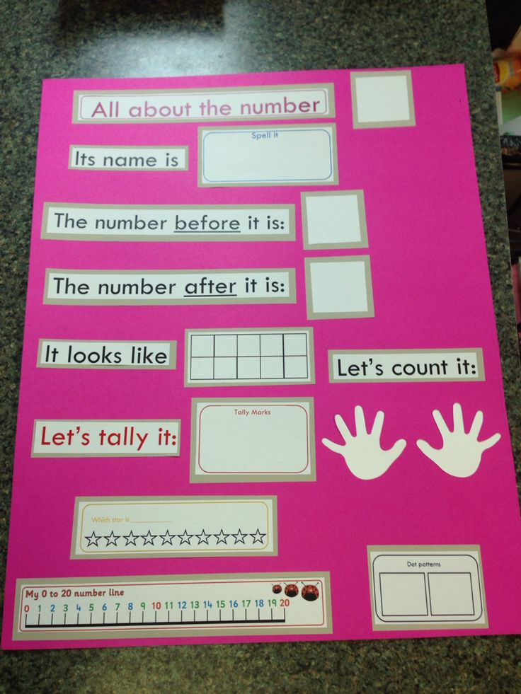 Math chart for circle time board Laminate so you can use a dry erase marker for each #