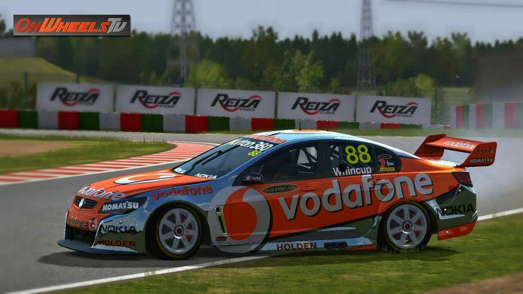Great looking Super V8 cars – Onwheels TV 2011 Team Vodafone by Tero Dahlberg (#88 Jamie Whincup