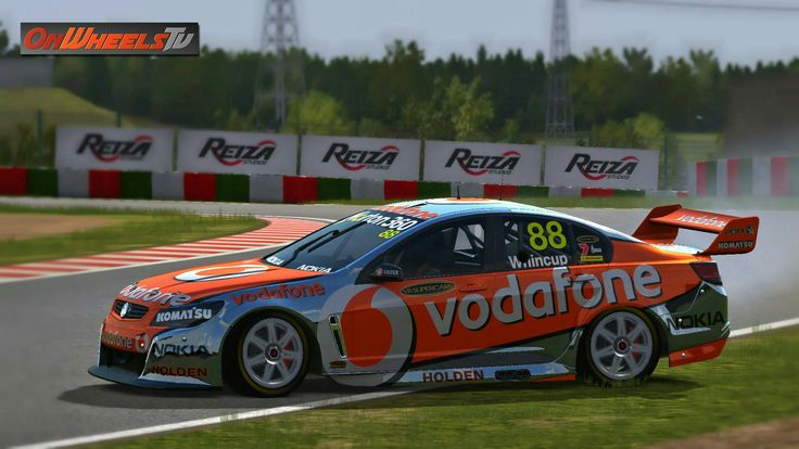 Great looking Super V8 cars – Onwheels TV 2011 Team Vodafone by Tero Dahlberg (#88 Jamie Whincup