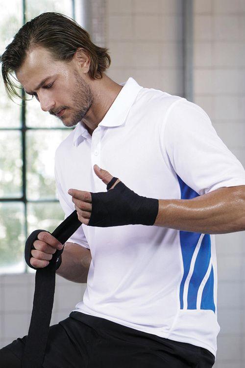 Tricou polo Unisex Training Gamegear din 100% poliester #tricouri #polo #sport #personalizate #unisex #broderie
