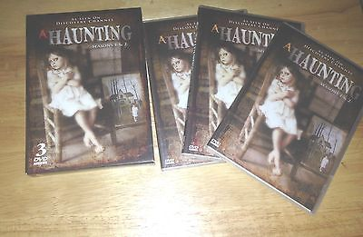 A Haunting - Season 1 & 2 (DVD, 2008, 3-Disc Set) Discovery channel