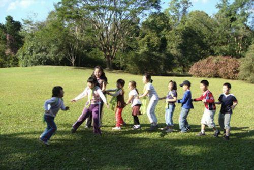 Le jeu du poussin, jeu collectif à découvrir