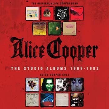 Cofanetto contenente i 15 album studio di #AliceCooper pubblicati dalla Warner Bros.