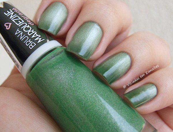 Esmalte Bruna Marquezine Degrade Verde Black