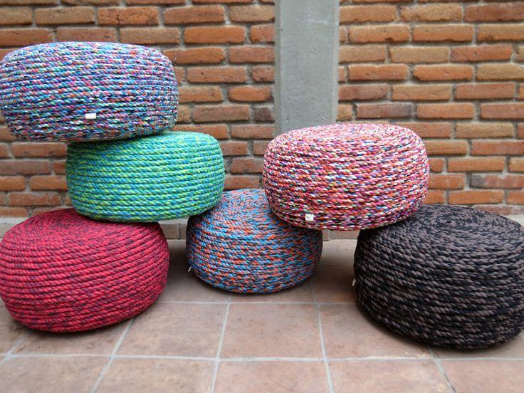 Bombón - Tener un mueble de llanta no solo es apoyar al ambiente sino también al diseño. #llanta #recicla #tire