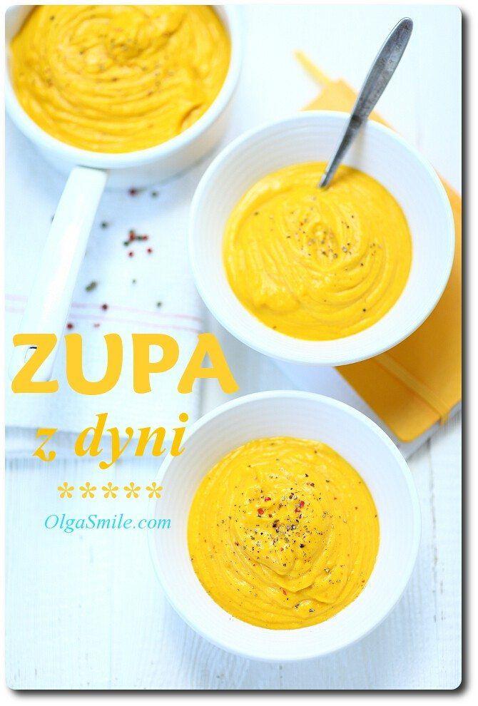 Zupa z dyni Nadszedł idealny czas na zupy, a zupa z dyni jest wprost idealna! Zupa z dyni to przepis, z którego często korzystam i chętnie przygotowuję ją dla całej rodziny. Musze się przyznać, że akurat