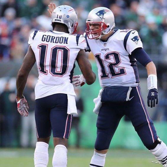 Way To Go Gopats Team New England Patriots Josh Gordon Patriots