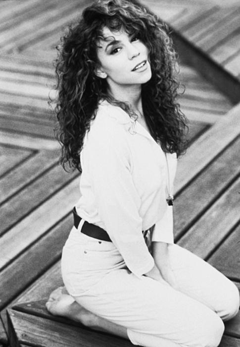 Natural and Beautiful Mariah Carey