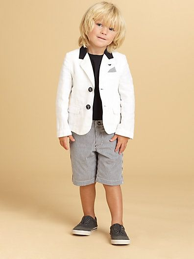 Toddlers & Little Boys Blazer - omg!!  Is this not Jackson, @Jennifer Norton