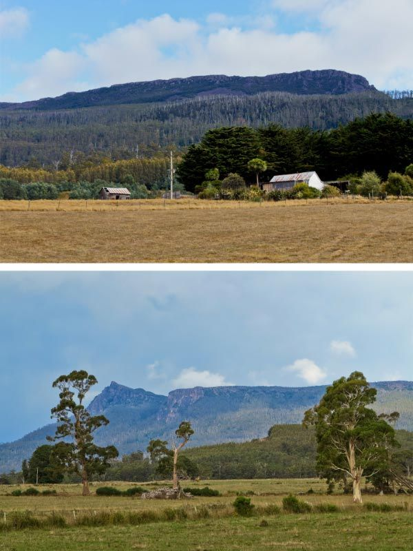 Views of The Great Western Tiers. Photos and article by Carol Haberle for Think Tasmania.