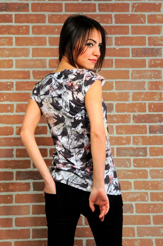 Black birds spring fashion new design women t by nikacollection, $32.00
