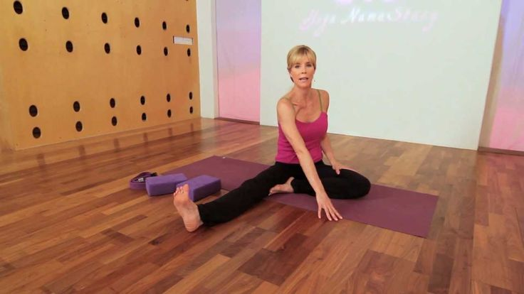 Very effective quadratus lumborum Yoga stretch