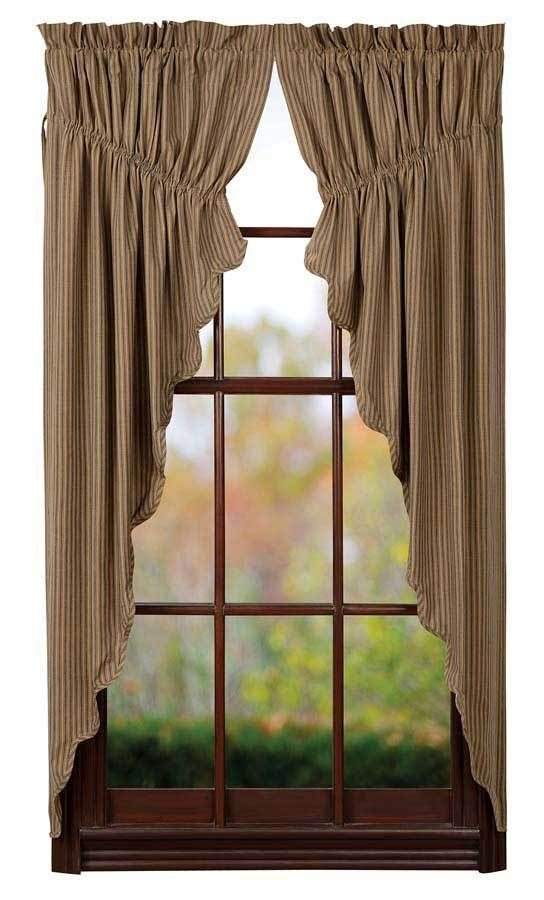 33 best Primitive & Country Inspired Prairie Curtains ...