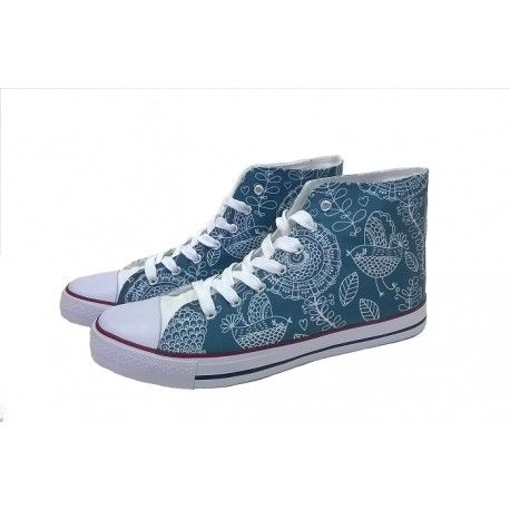 VINTAGE. DESIGN YOUR OWN PRINT ON SNEAKERS AT WANNASHOE.COM