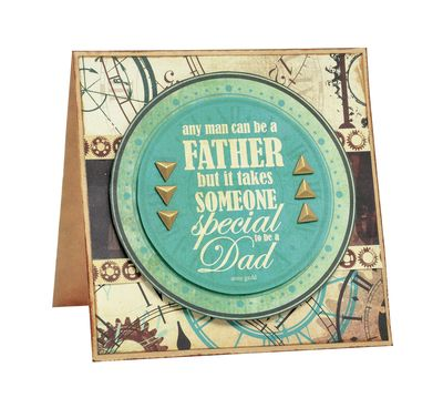 Kaisercraft Time Machine - Father's Day Card  By Alicia McNamara