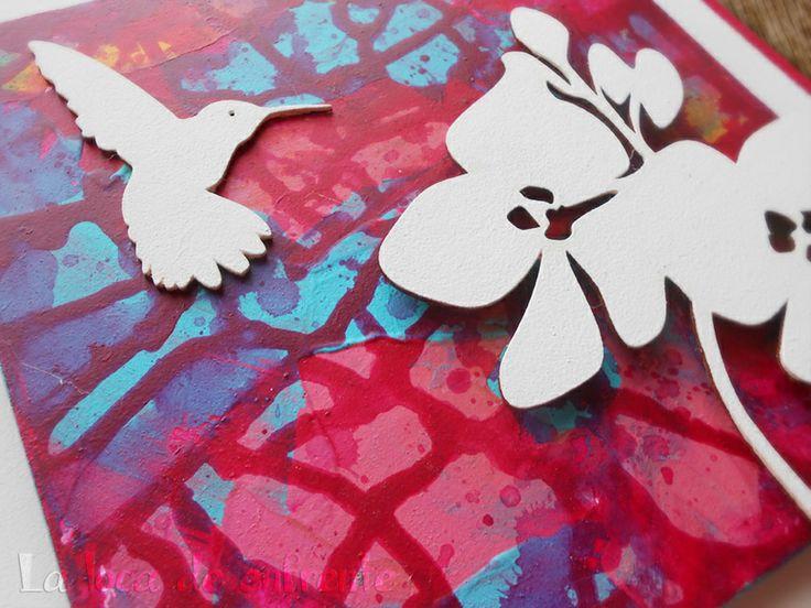 """serie """"birds and floral"""" :: MAGENTA :: La loca de enfrente"""