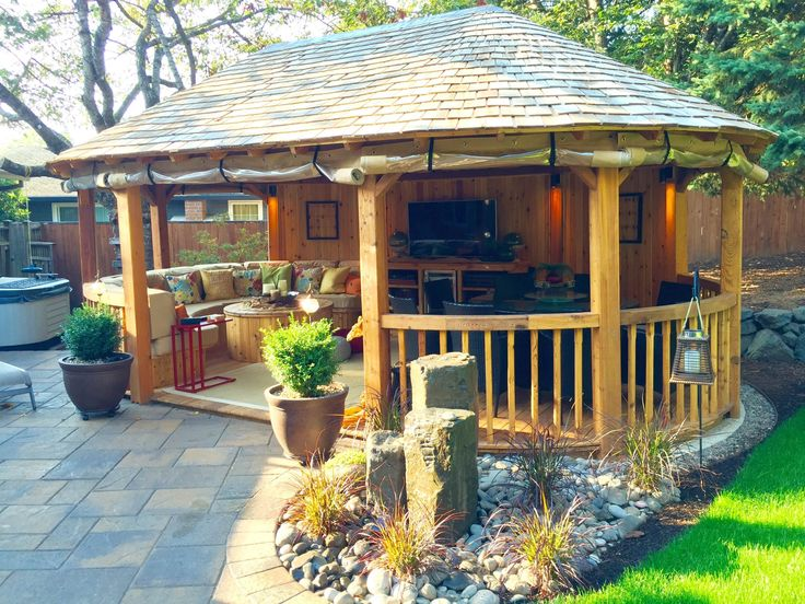 17 best images about the cambridge luxury gazebo for Pinterest outdoor garden rooms