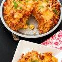 BBQ Chicken Cornbread Pie - Table for Two